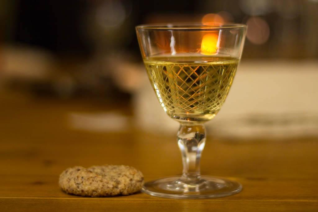 bicchiere in tavola