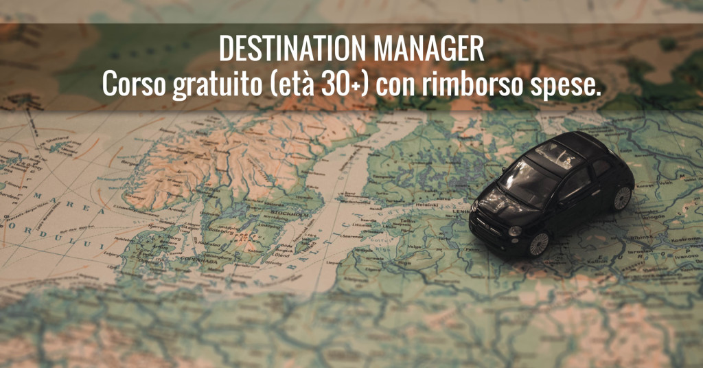 corso formazione gratuito destination manager turismo marketing retica