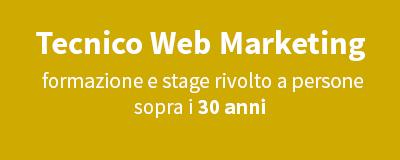 Tecnico Web Marketing (30+ anni)