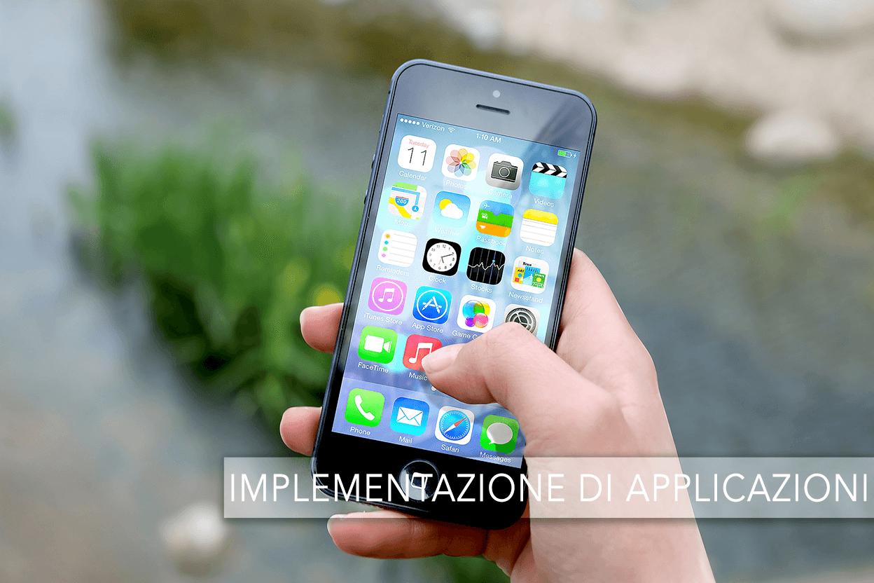 IMPLEMENTAZIONE APPLICAZIONI – ACCADEMIA DELL'ICT