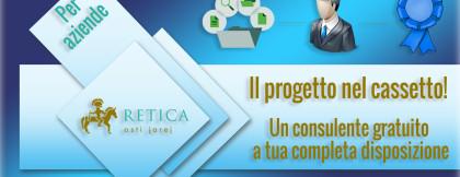 Consulente di progetto gratuito per aziende – Il progetto nel cassetto!