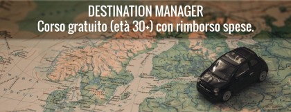 Corso e tirocinio per Destination Manager