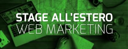 Stage all'estero in Web Marketing