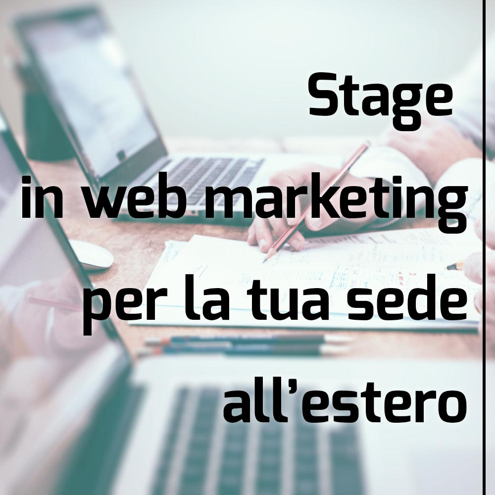 stage estero web marketing