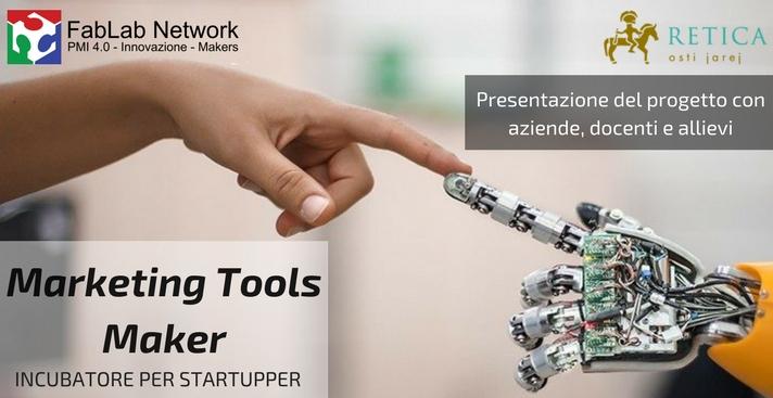 Marketing Tools Maker – Presentazione progetto con aziende-docenti-allievi