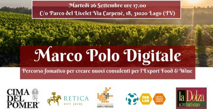 Marco Polo Digitale – Presentazione progetto con docenti, allievi e aziende
