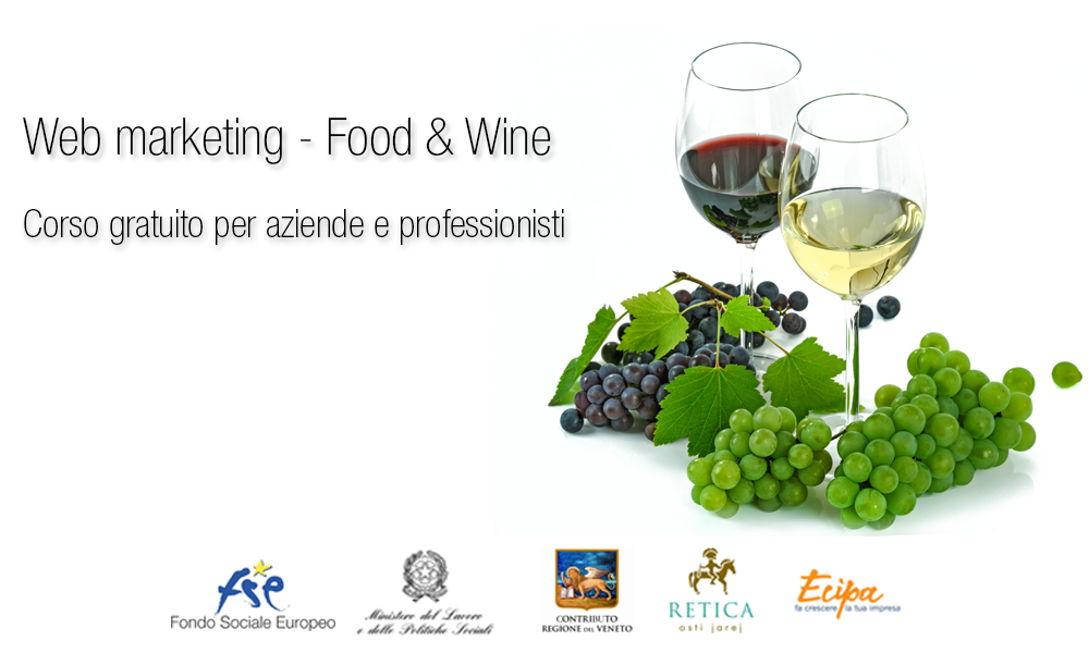 WEB MARKETING – FOOD & WINE