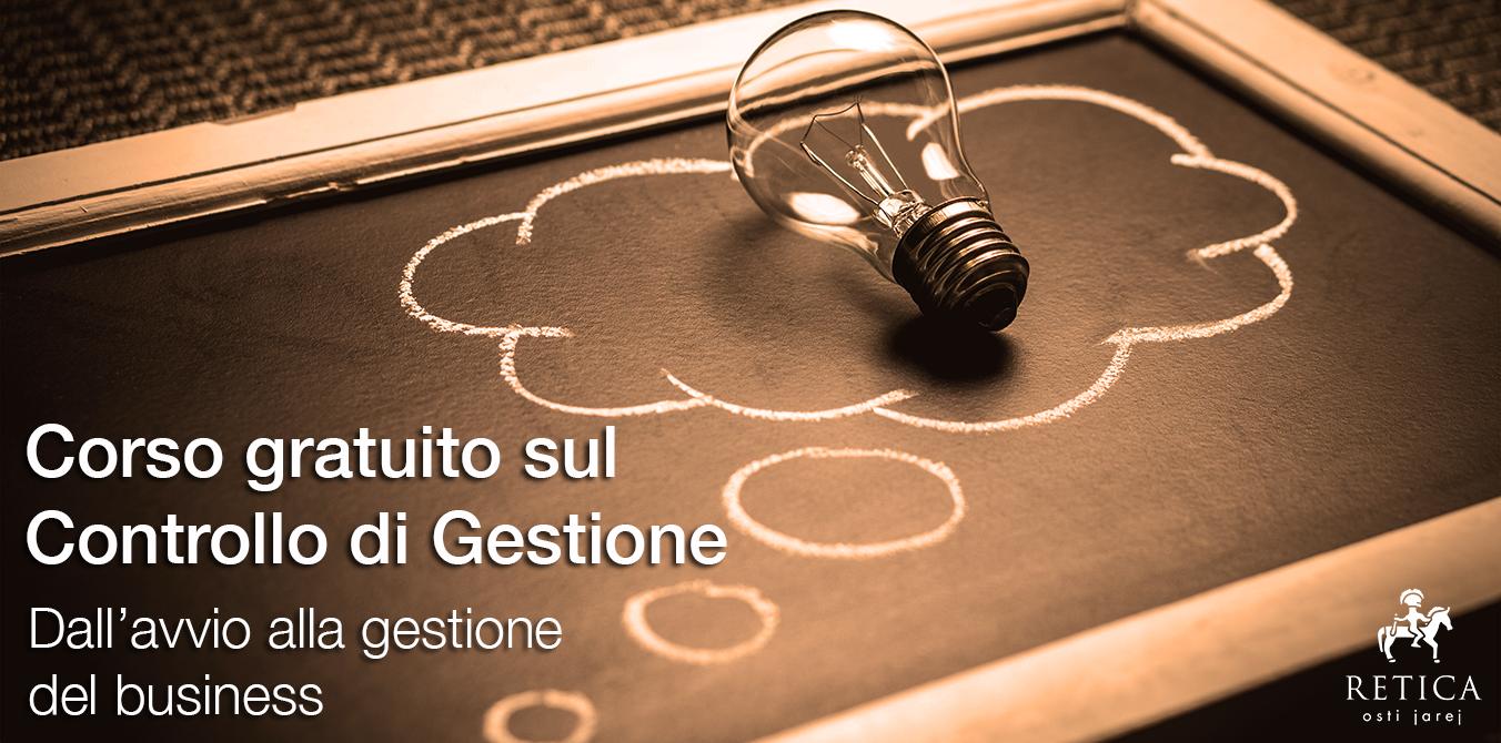 CORSO GRATUITO CONTROLLO DI GESTIONE