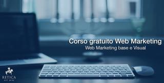 CORSO GRATUITO DI WEB MARKETING & VISUAL