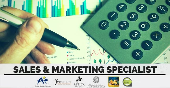 Corso per Sales & Marketing Specialist (under 30)