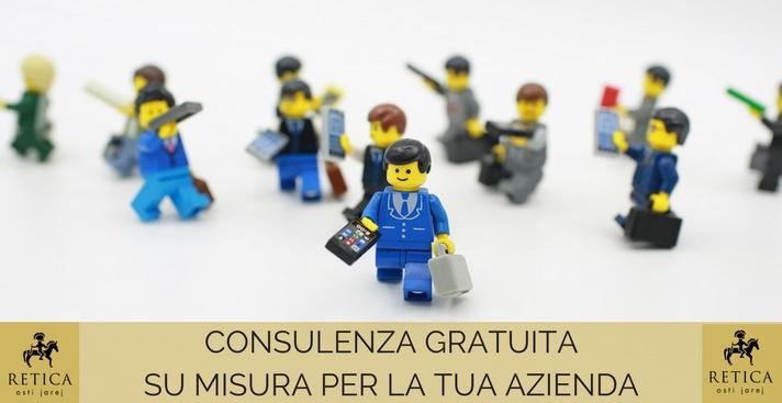 Consulenza gratuita su misura per la tua azienda