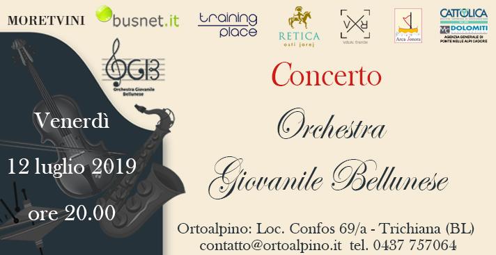 CONCERTO ORCHESTRA GIOVANILE BELLUNESE