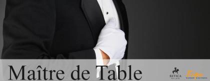 MAÎTRE DE TABLE