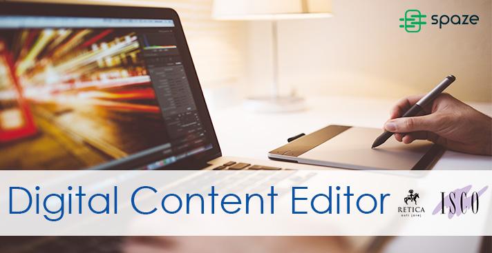 Corso di Formazione e Stage Retribuito per Digital Content Editor (under 30)